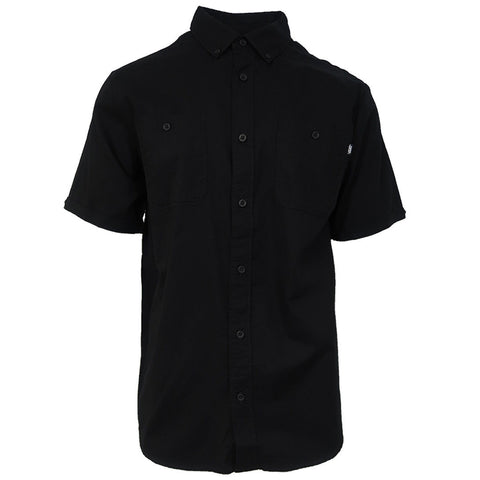 Vans Off The Wall Men's Black Walkover 2-J S/S Woven Shirt