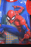 Marvel Kid's Spiderman Red & Blue Skyscraper S/S Tee and Shorts Set