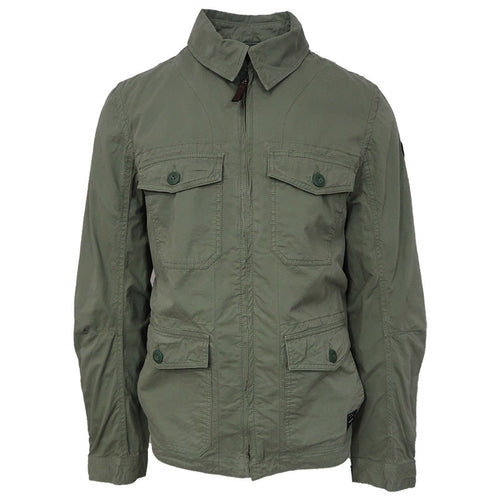 O'neill Men's Olive Leaves LM L/S Field Jacket (Retail $139.99)