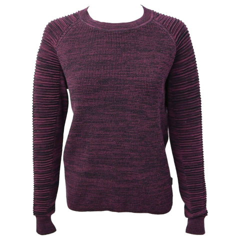 G-STAR RAW Women's Maroon Suzaki Knit L/S Pull Over Sweater (Retail $120)