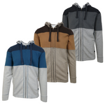 prAna Men's Jax Blue Ash Full-Zip Hoodie