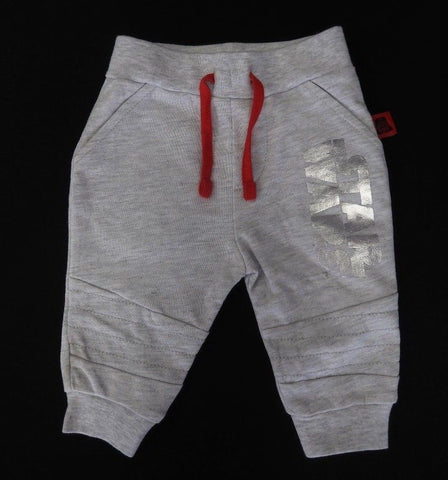 Disney Infant Star Wars Shiny Silver Track Pants
