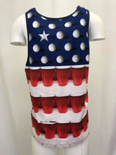 O'Neill Men's American Beer Pong Sleeveless Tank Top (Retail $30)