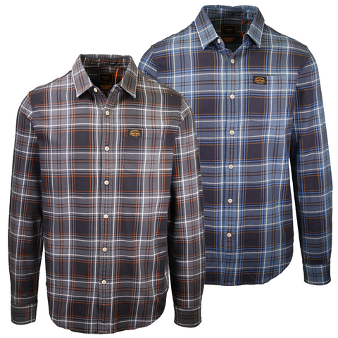 Superdry Men's Traditional Workwear Plaid L/S Woven Shirt
