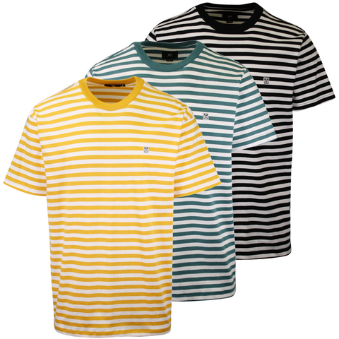 OBEY Men's 89 Icon Stripe II Box S/S T-Shirt (S02)