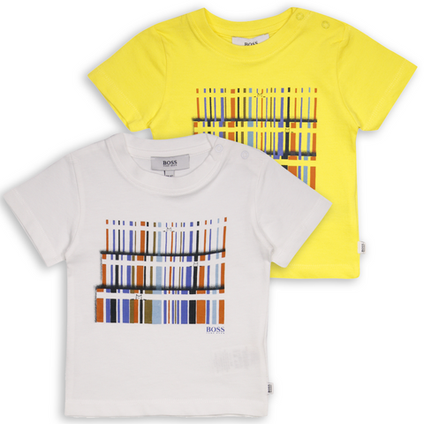 Hugo Boss Kid's Abstract Bookshelf S/S T-Shirt (S02)