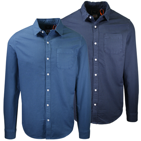 Superdry Men's Lined Dried Oxford L/S Woven Shirt