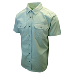 prAna Men's Mint Green Cayman S/S Woven Shirt (S17)