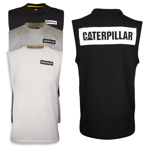 Caterpillar Men's Icon Block Tank Top (S01)