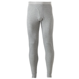 Croft & Barrow Men's Heather Grey Thermal Pyjama Pants (S01)