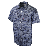 Levi's Men's Blue Fish S/S Woven Shirt