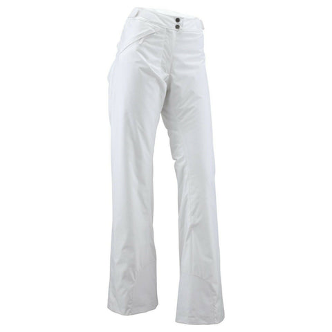 Wed'ze by Decathlon Women's White Oneslide Waterproof Ski/Snow Pants