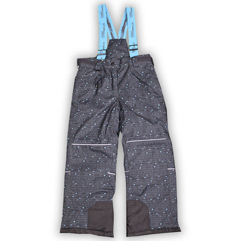 Stormpack Sunice Girl's Light Blue Grey 3M Thinsulate Insulation Winter Bib