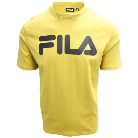 FILA Men's Classic Mustard Yellow S/S T-Shirt (S07D)