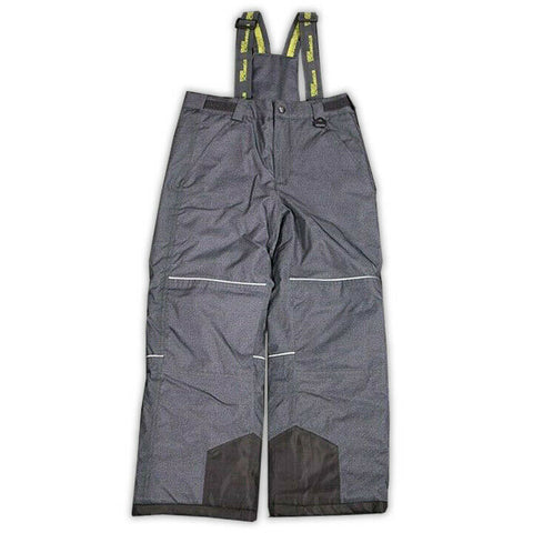Stormpack Sunice Boy's Grey Lime 3M Thinsulate Insulation Winter Bib