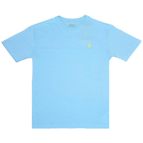 Polo Ralph Lauren Kid's Turquoise Classic Round Neck S/S T-Shirt