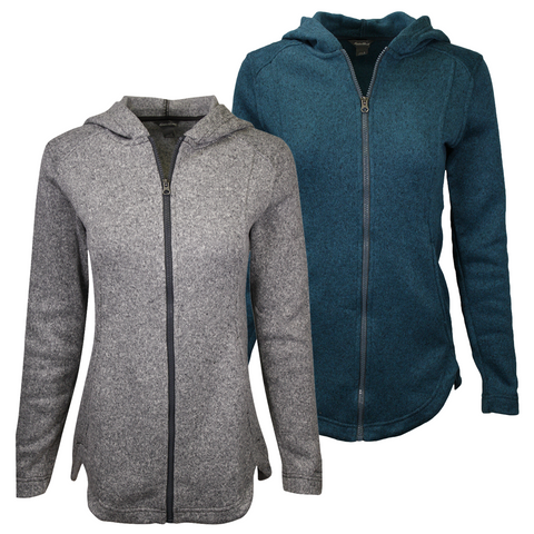 Eddie Bauer Women's Fleece Full Zip Hoodie (S01)