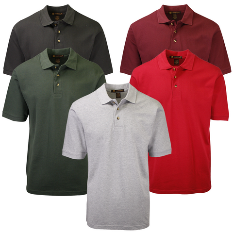 Harriton Men's Classic S/S Polo Shirt