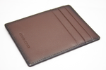 Premium Leather Men's Brown Card Holder (S39)