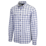 Barbour Men's National Trust Neutral Combe Plaid L/S Woven Shirt (S08) Size Medium