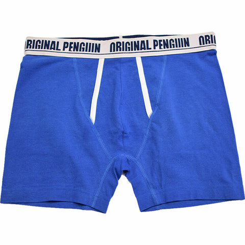 Original Penguin Men's Solid Blue Boxer Briefs (S05)