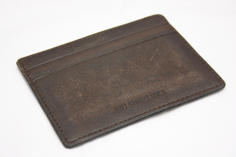 Premium Leather Men's Brown Card Holder (S13)