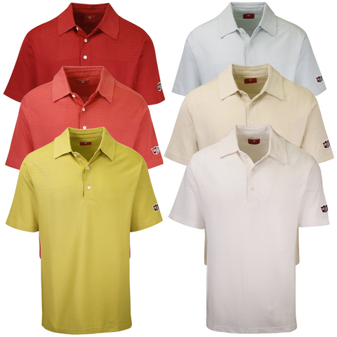 Wilson Staff Men's Classic WS S/S Polo Shirt