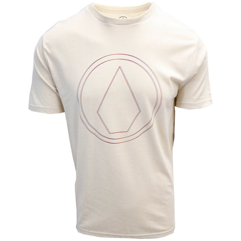 Volcom Men's White Flash Pinner HTH S/S T-Shirts (S20)