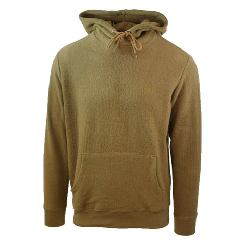 Obey Men's Light Brown Prospect L/S Pull Over Hoodie (Retail $68)