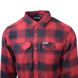 Columbia Men's Omni-Wick Kestrel Trail L/S Flannel Size XS