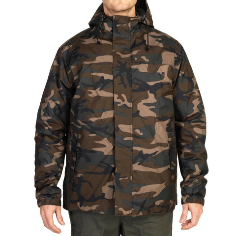 Solognac By Decathlon Men's Sibir 100 Camouflage Parka Jacket