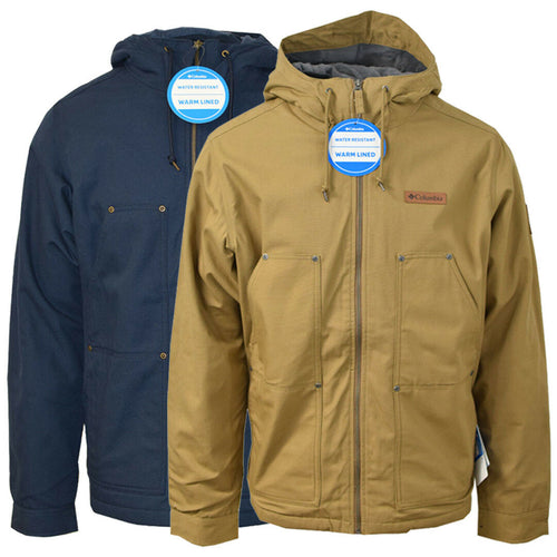 Columbia Men's Twill Loma Vista Fleece Lined Hooded Jacket