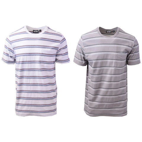 Vans Off The Wall Men's Pastel Striped Tee S03