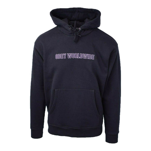 Obey Men's Worldwide Panic L/S Pullover Hoodie