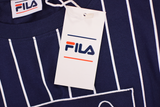FILA Men's Navy White Stripe S/S Tee (S04)