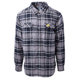 Columbia Men's Collegiate Flare Gun L/S Flannel Iowa Hawkeye