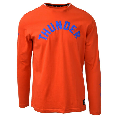 New Era Men's NBA Thunder Embroidered L/S T-Shirt
