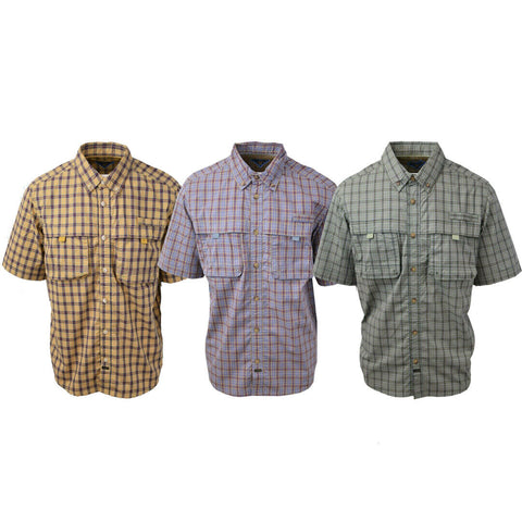 The American Outdoorsman Super Fly Fisher Series S/S Woven Shirt
