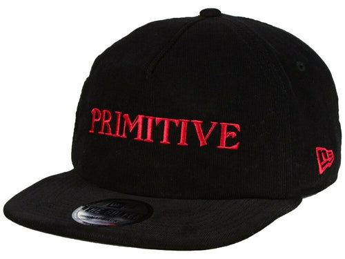 Primitive Skateboarding x New Era Magic 950 Black Corduroy Snapback
