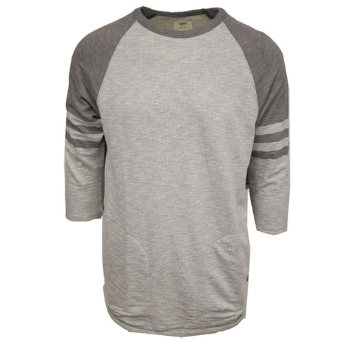 Vans Off The Wall Men's Chandler Thermal Raglan 3/4 Sleeve Crewneck