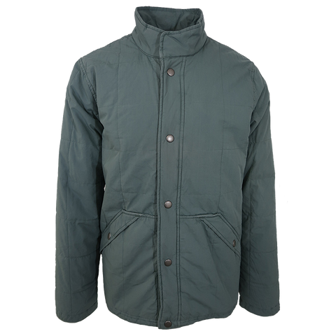 Abercrombie & Fitch Men's Green Fleece Lined Jacket (Retail $130) Size XS