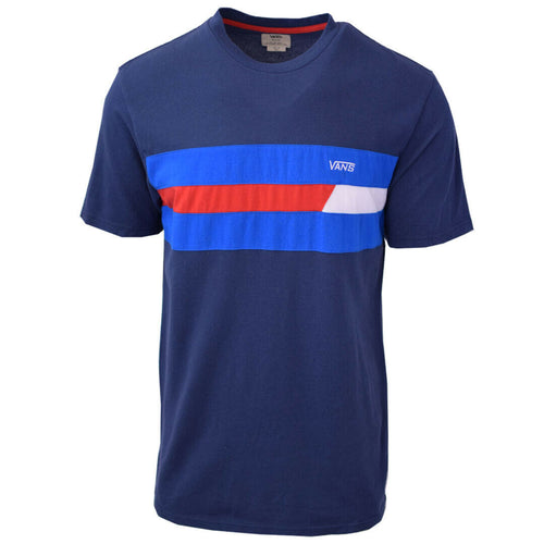 Vans Off The Wall Men's Red, White & Blue S/S Tee S10-A