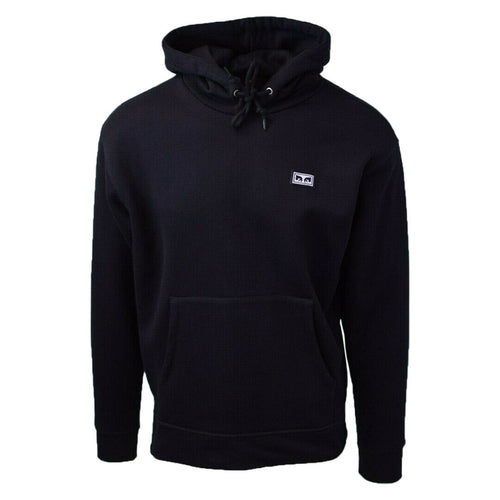 Obey Men's Black Bold All Eyez L/S Pull Over Hoodie