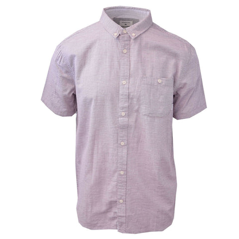 Quiksilver Men's Purple Waterfall S/S Woven Shirt
