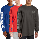Caterpillar Men's Trademark Banner L/S T-Shirt