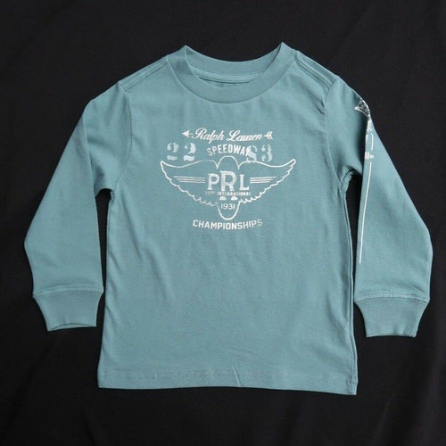 Polo Ralph Lauren Kid's Turquoise Speed Way L/S Tee