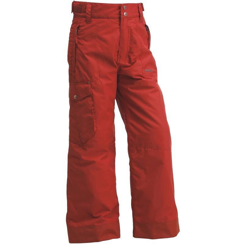 Wed'ze by Decathlon Unisex Red Evostyle Waterproof Ski/Snow Pants