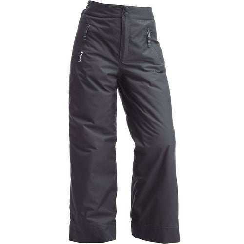Wed'ze by Decathlon Boys Grey First Heat Waterproof Ski/Snow Pants