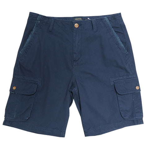 Quik Silver Men's Dark Navy Measure Cargo Shorts