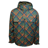 Wed'ze by Decathlon Men's Checkered Evostyle Fleece Lined Ski Jacket